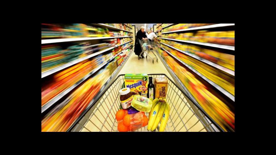 Video Reportáž: Jurečka chce v obchodech víc českých potravin