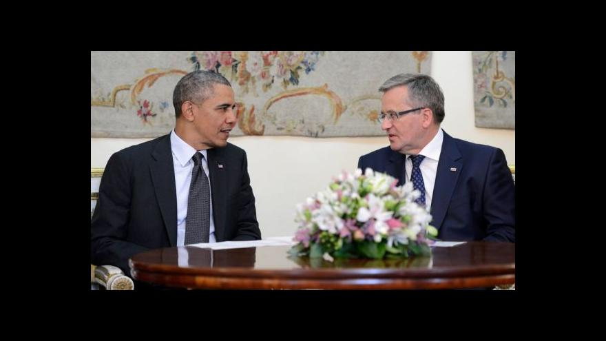 Video Pazderka: USA chtějí zdůraznit, že zůstávají v Evropě