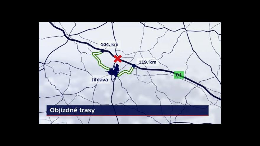 Video Dalnice D1 tématem Událostí ČT