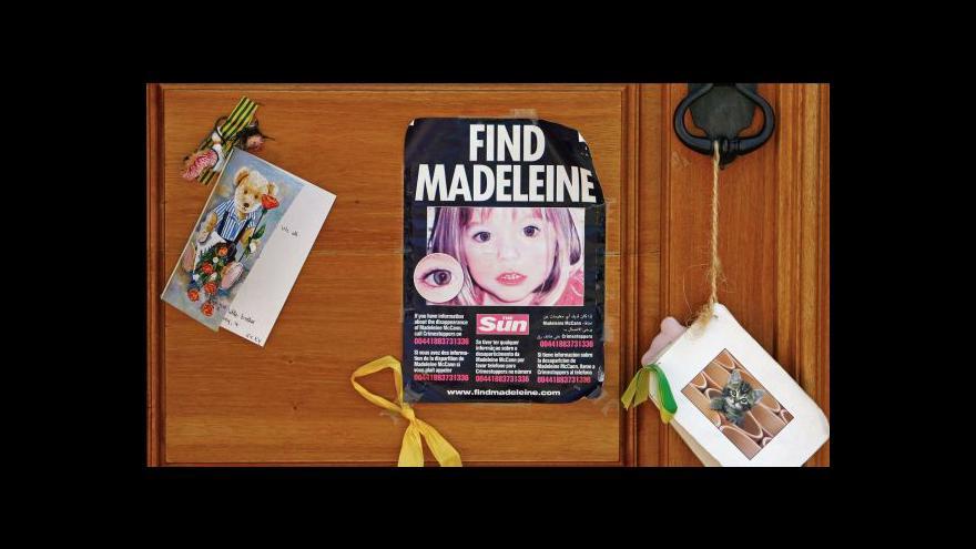 Video Při pátrání po Maddie pomohou i radary