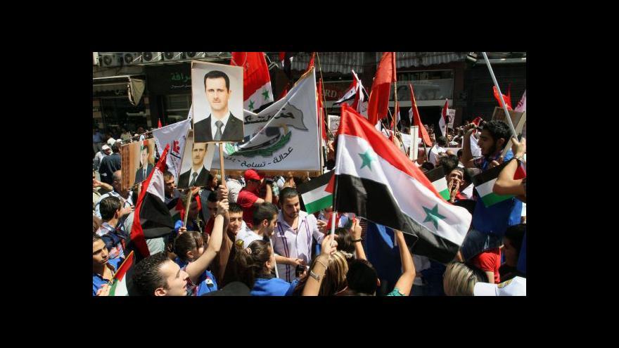 Video Mikoláš: Asad se pravděpodobně udrží u moci