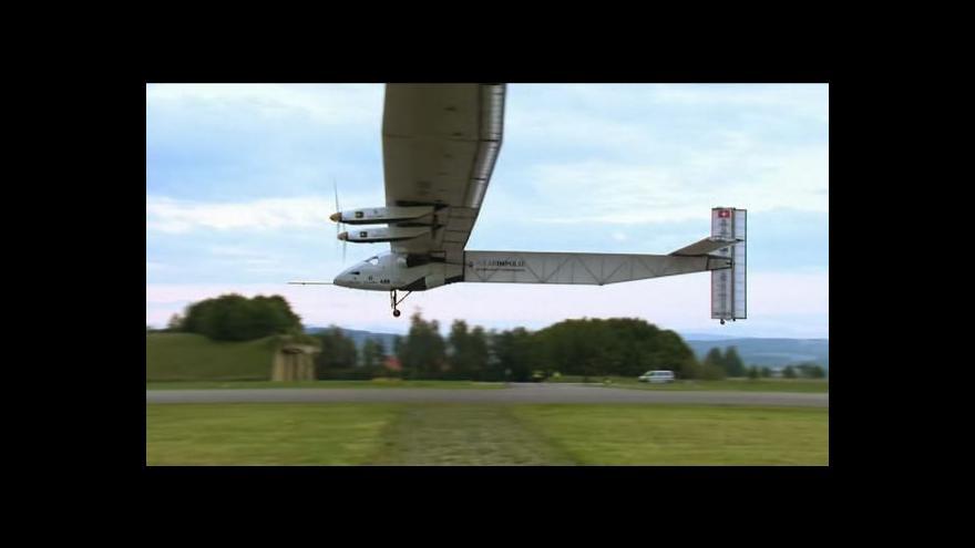 Video Solar Impulse 2 absolvoval první let
