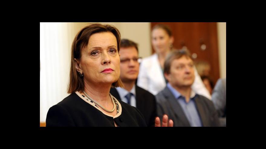 Video Reportáž: Vitásková se hájí, že žádný zločin nespáchala