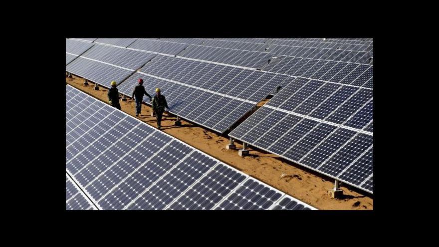 Video Zuzana Kubátová: Podnikání v solárech už dnes není tak výhodné