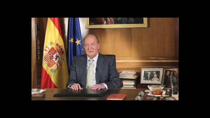 Video Události, komentáře: Abdikace Juana Carlose I.