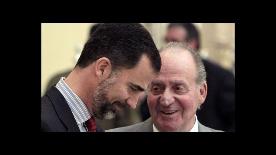 Video Juan Carlos I. po téměř 40 letech abdikuje