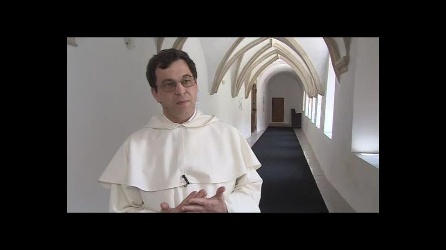 Video Odchod dominikánů komentuje jejich provinciál Benedikt Mohelník