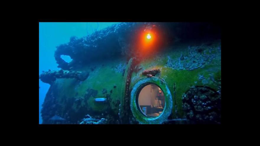 Video Fabien Cousteau chce strávit měsíc pod vodou