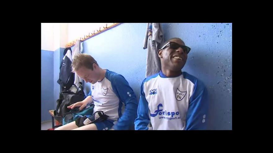 Video No comment: Utkání nevidomých futsalistů