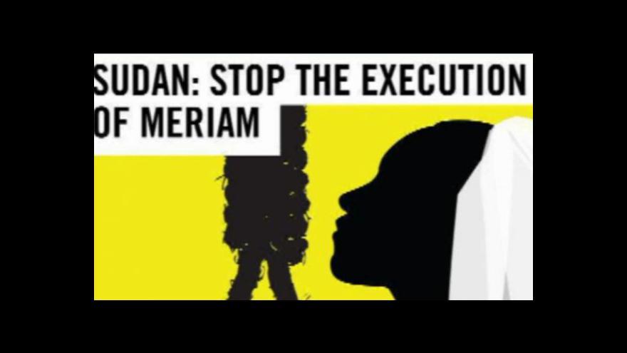 Video Horizont: Súdánka odsouzená k smrti zůstane ve vězení