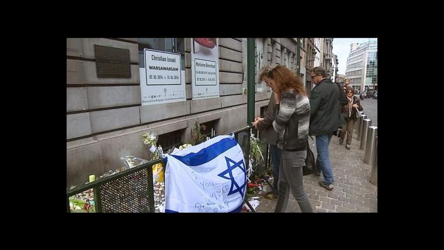 Video Policie dopadla muže podezřelého ze střelby v Bruselu