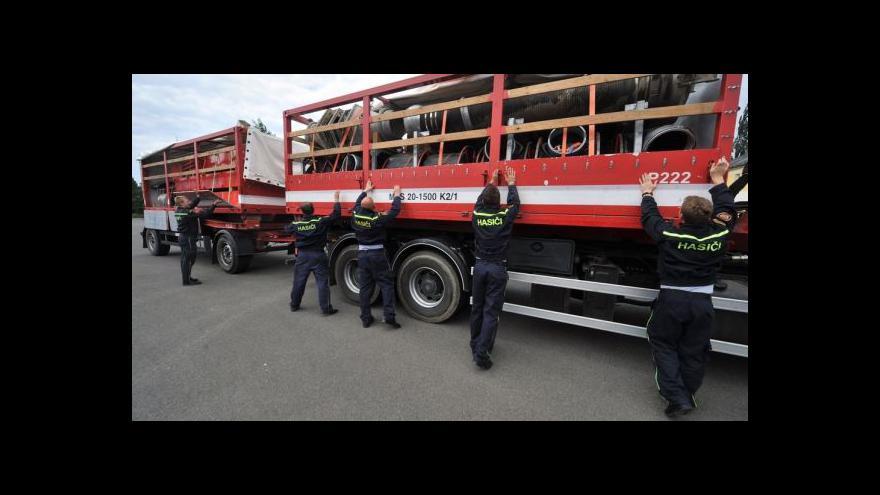 Video Katastrofa, popisují hasiči po návratu od srbských povodní