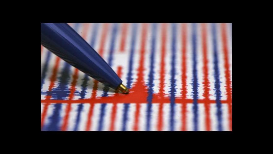 Video Chebsko zasáhlo jedno z nejsilnějších zemětřesení