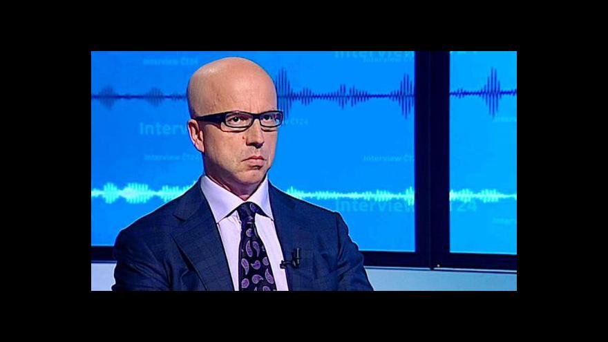 Video Pavel Telička v Interview ČT24