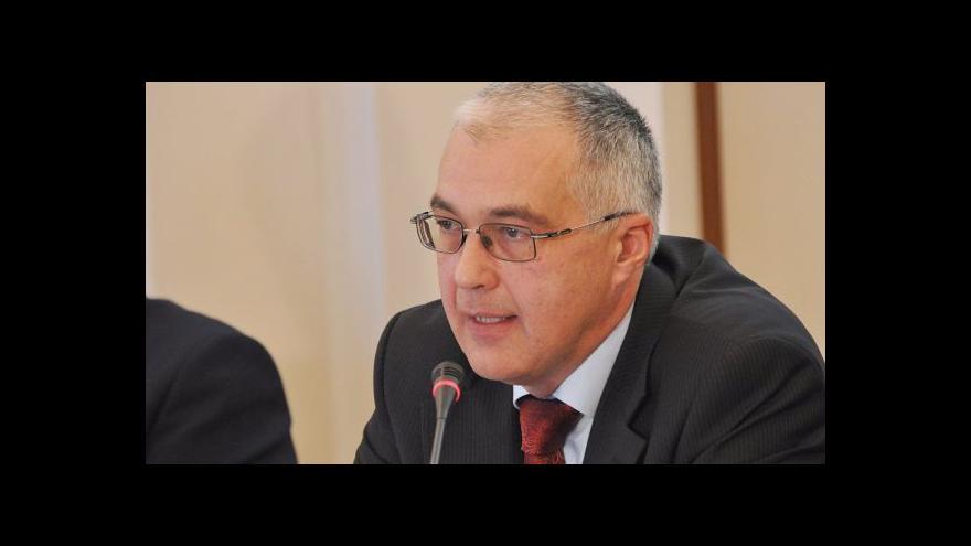 Video Ředitel České exportní banky Klumpar rezignoval, nahradí ho Bureš