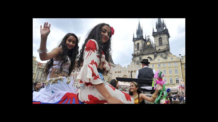 Video Romský festival Khamoro spěje ke svému konci