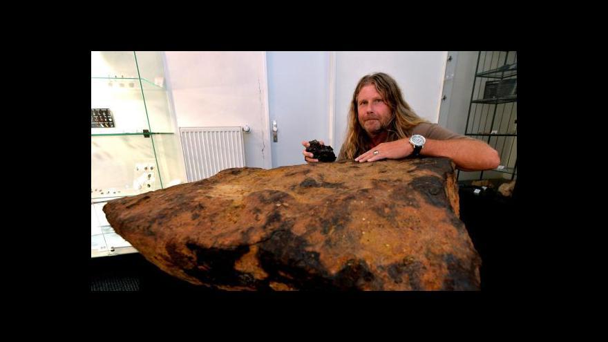 Video Bez komentáře: Výstava meteoritů ve Štefánikově hvězdárně