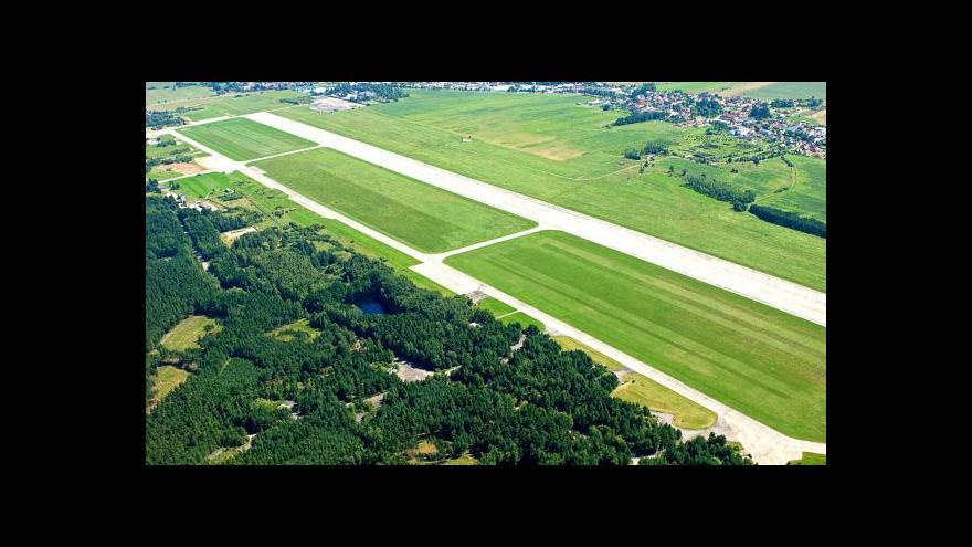 Video Letiště v Plané je blíž k mezinárodnímu provozu