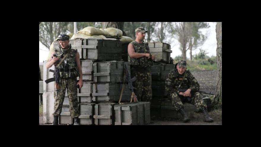 Video Karas: Kyjev chce odříznout separatisty od hranic s Ruskem