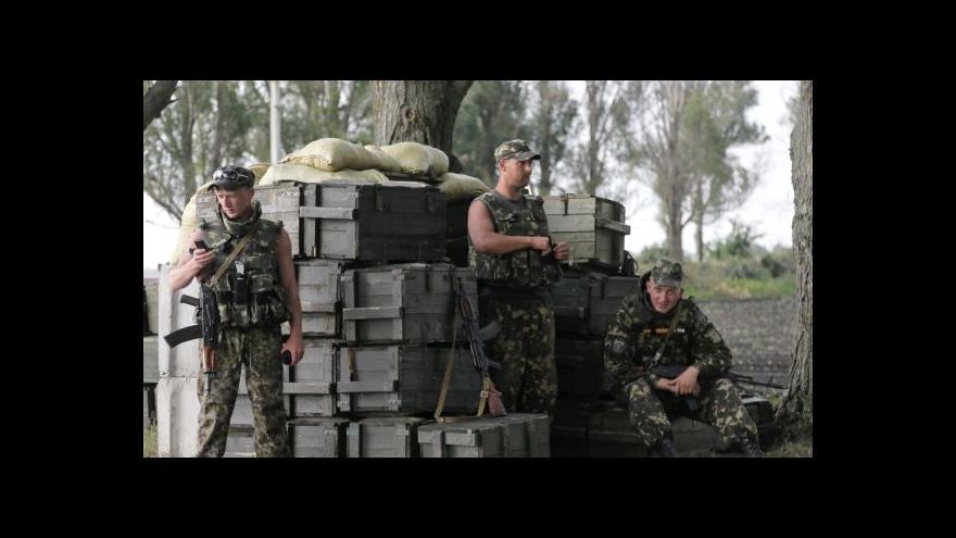 Video Zpravodaj: Aktivita vojsk v Doněcku zřetelně stoupá