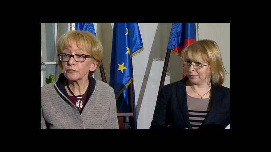 Video Obrat ve vztazích Heleny Válkové a Hany Marvanové