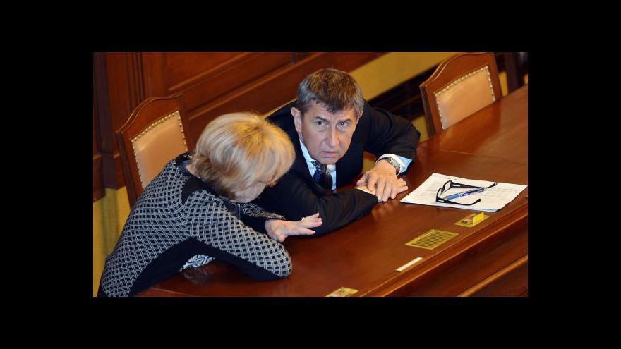 Video Babiš: Spory mezi Válkovou a Marvanovou je třeba řešit