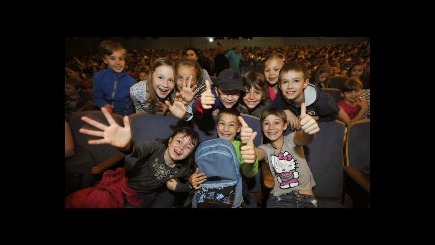 Video Ve Zlíně začal 54. festival filmů pro děti a mládež