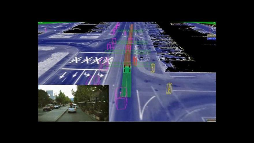 Video Google představil prototyp samořídicího auta