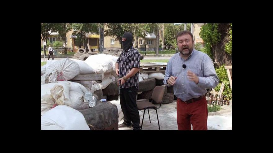Video Vzbouřenci v Doněcku posilují pozice a stavějí barikády