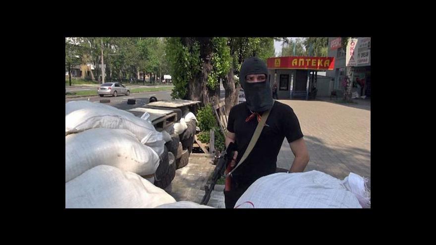 Video Události: Ukrajinská armáda počítá první větší ztráty