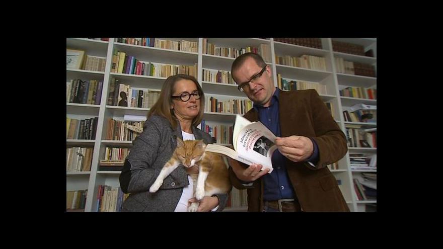 Video Horizont ČT24 - Jaruzelski a Walesa na knižních pultech