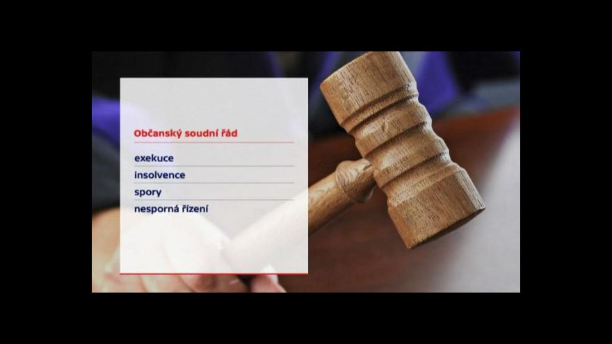 Video Události: Jak zlepšit vymahatelnost rozsudků