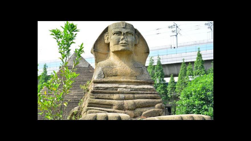 Video Čína kopíruje světové památky