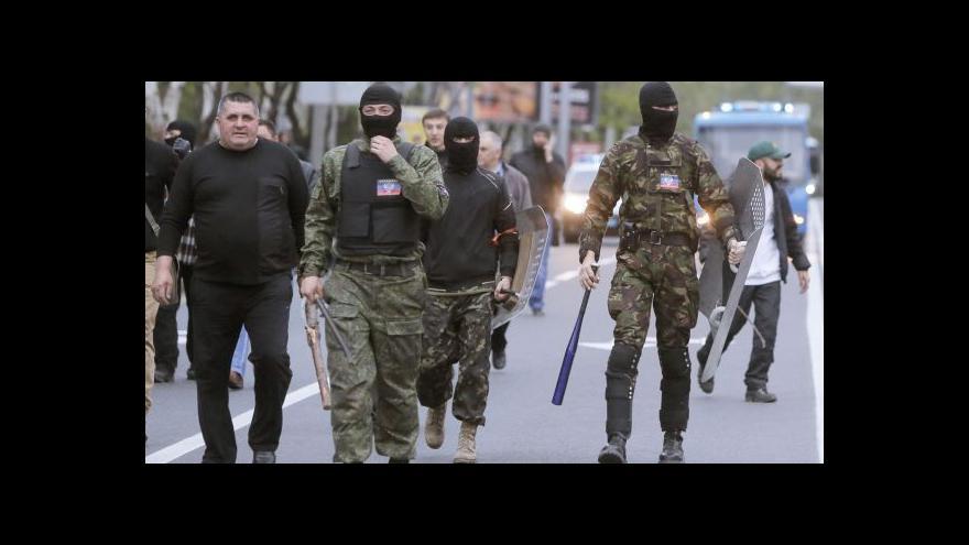 Video V Luhanské oblasti na východě Ukrajiny v noci vypukly krvavé boje