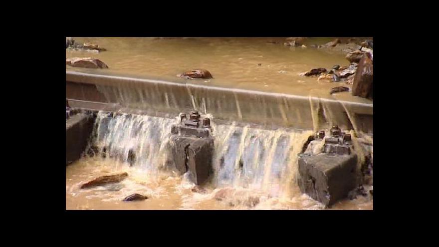 Video Události: Velká voda opadá