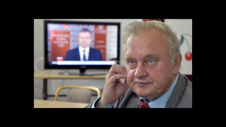 Video Ransdorf: Evropská integrace? Rozumný proces, špatné prostředky
