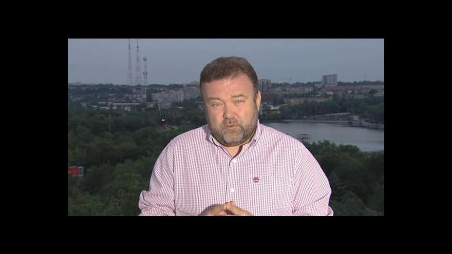 Video Miroslav Karas o propuštěných členech mise OBSE