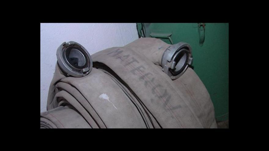 Video Chovanec chce peníze na modernizaci hasičských sborů