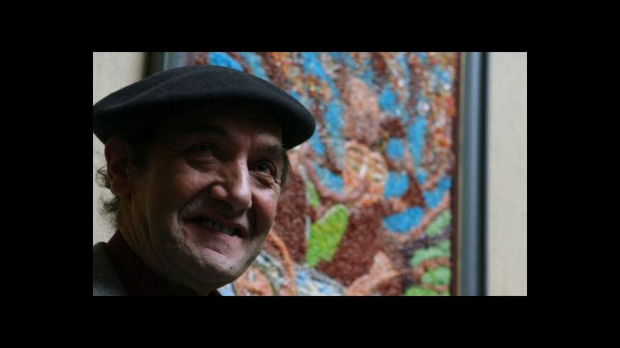 Video Rudolf Dzurko vystavuje na Kampě