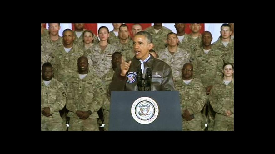 Video Obama: Nejdelší válka v dějinách USA brzy skončí