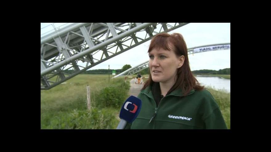 Video O evropské energetice hovoří aktivistka Greenpeace Lucie Jakešová