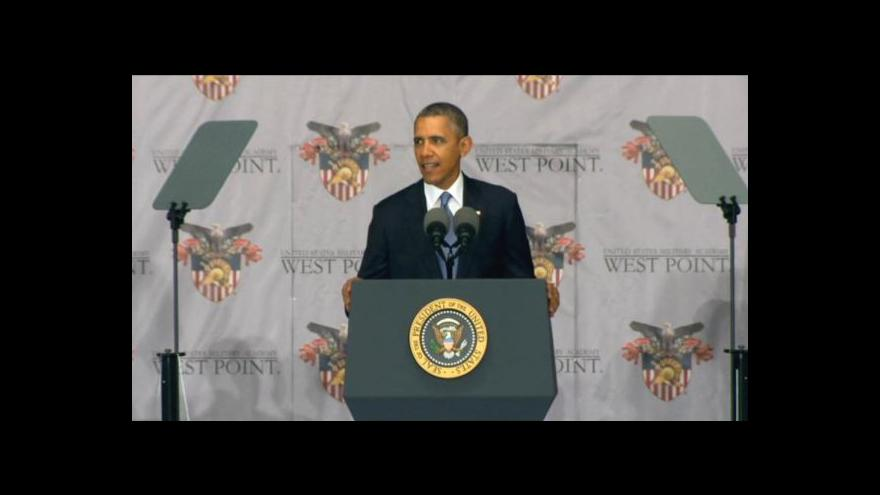 Video Projev Baracka Obamy ve West Pointu