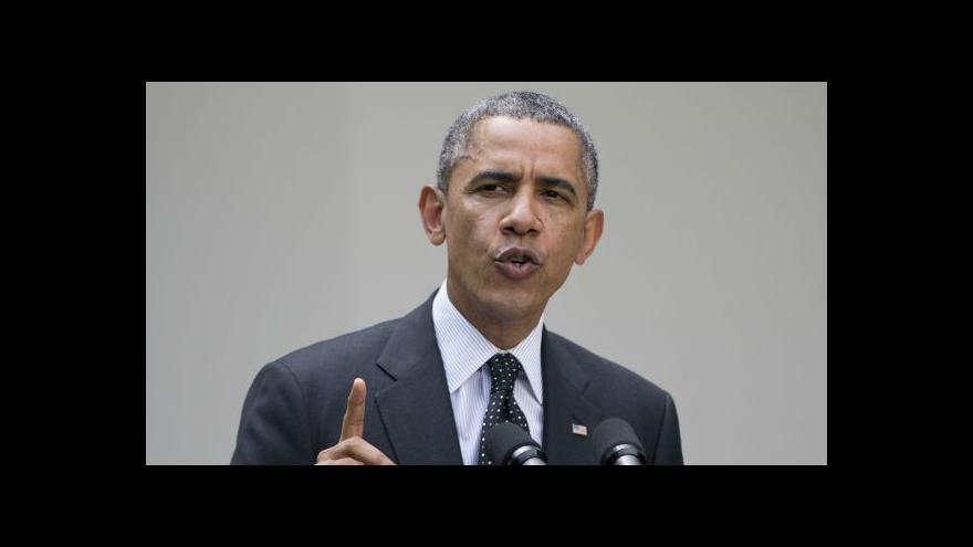 Video Obama představil svou strategii zahraniční politiky
