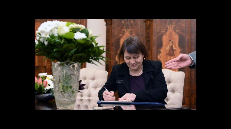 Video Rozhovor s ombudsmankou Annou Šabatovou