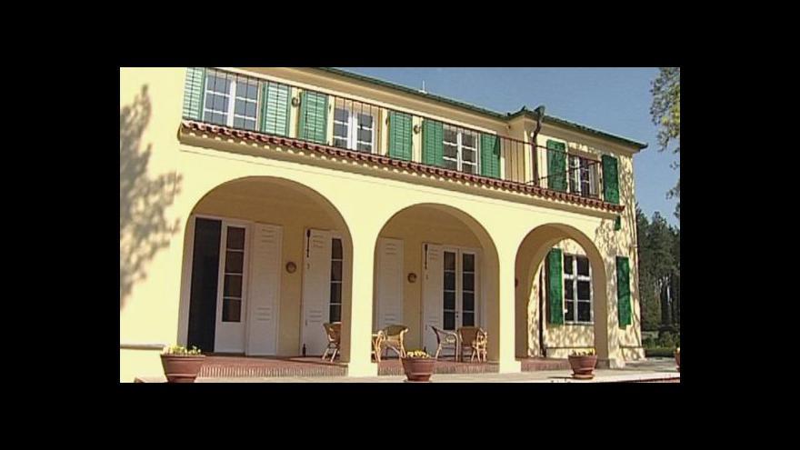 Video Nahlédnutí do Benešovy vily