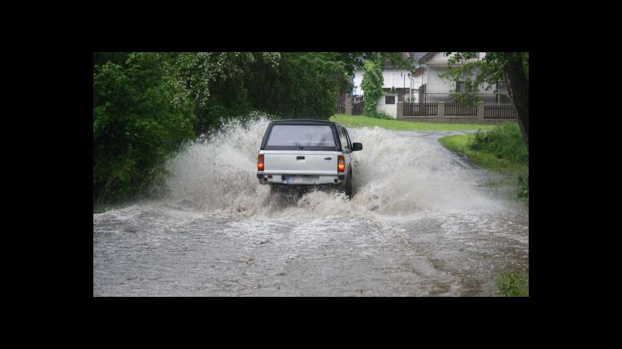 Video Blesková povodeň zasáhla Rokycansko