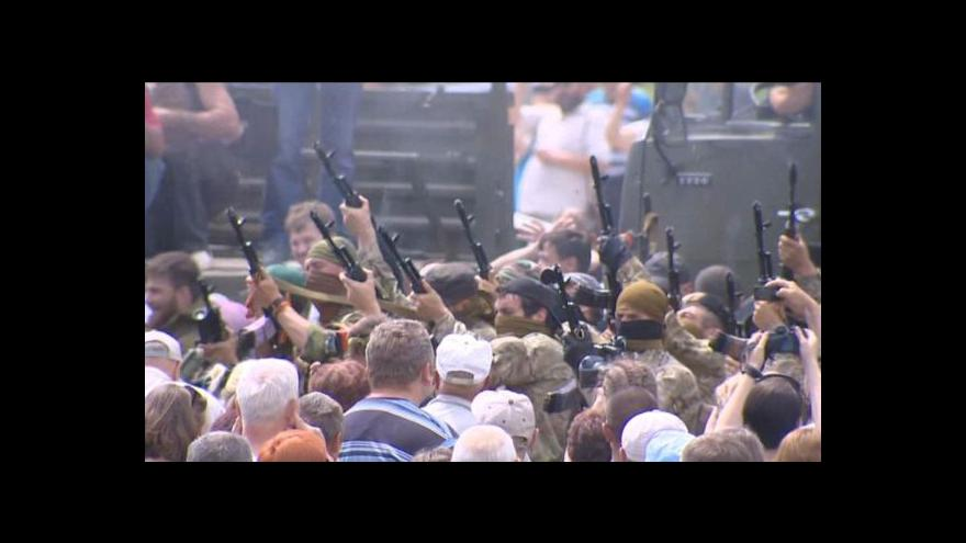 Video Horizont: Čečenci na východě Ukrajiny
