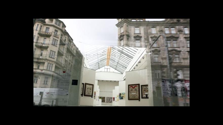 Video Výstavní síň Mánes po dvou letech otevírá