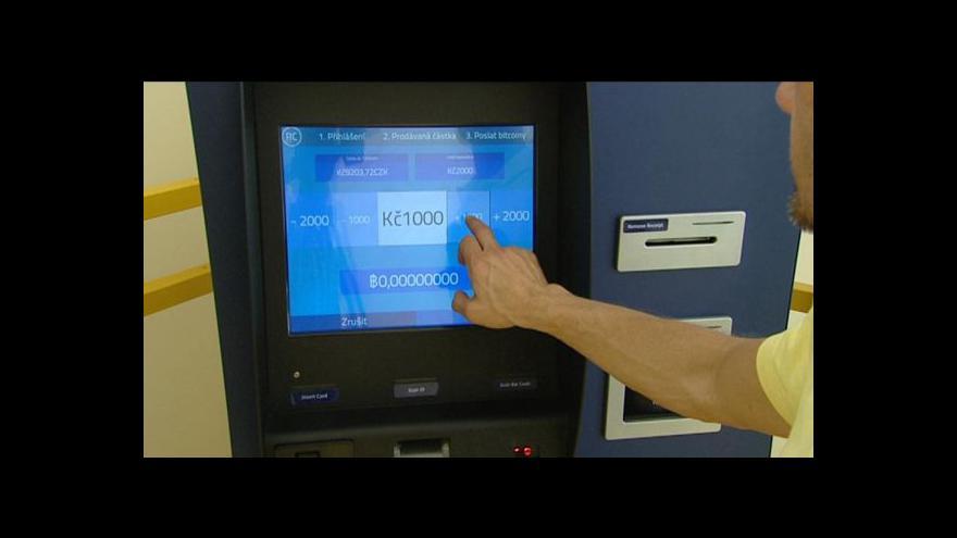 Video V Česku začal fungovat první bitcoinmat