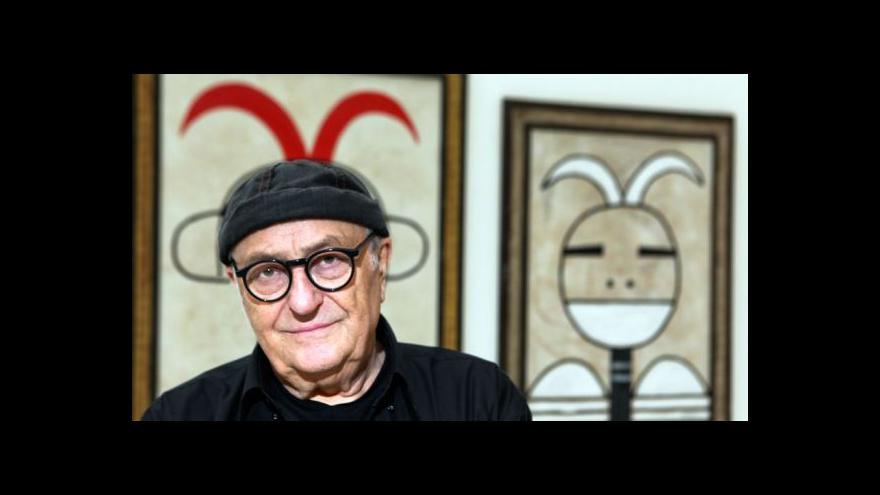 Video Steiger: Byl jsem malíř odjakživa, jen jsem to nevěděl